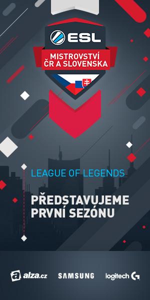 Support Lol Esl Mistrovství Czsk 1 Sezóna 2 Kvalifikace Esl Play