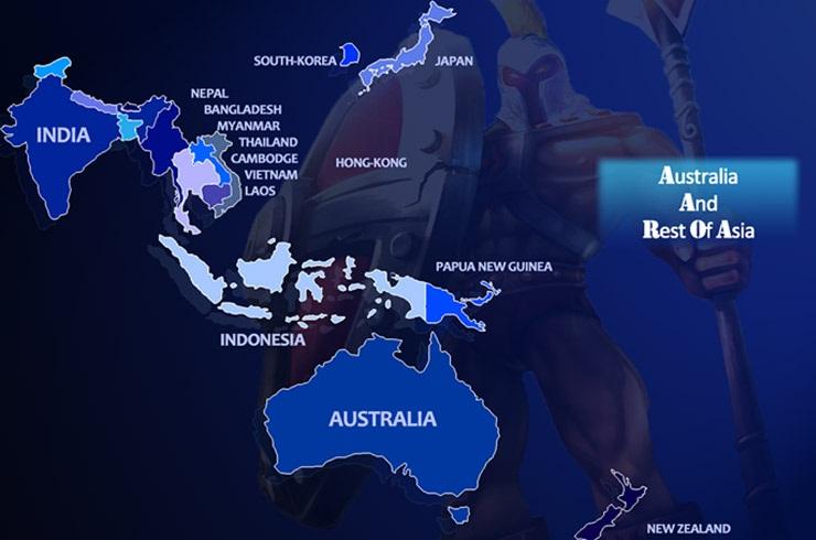Australia & Rest of Asia