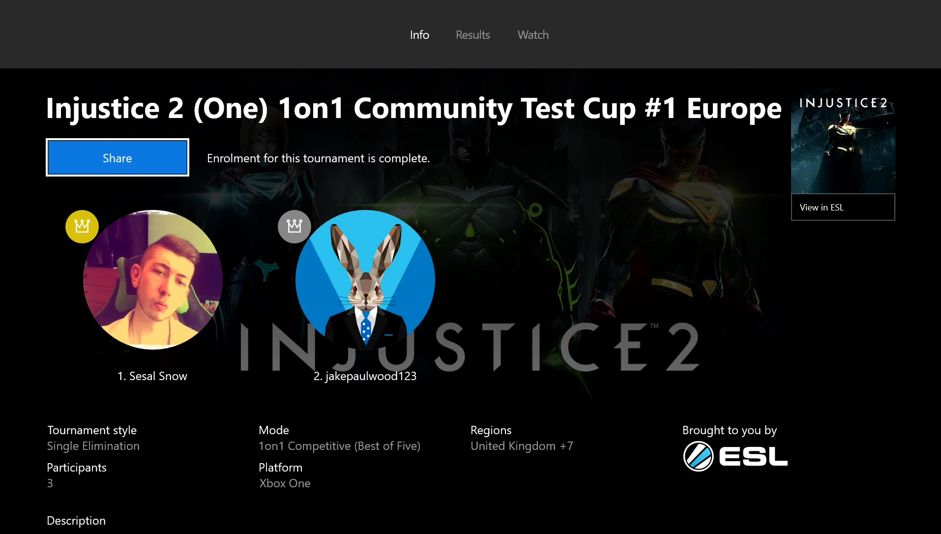 ESL Xbox Integration | ESL Play