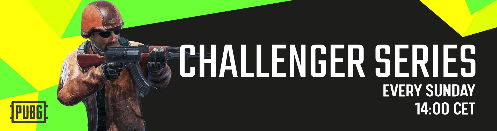 Challenger Series Banner