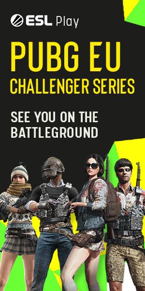 PUBG Squad Challenger Series Tournament #32 Europe | ESL Play
