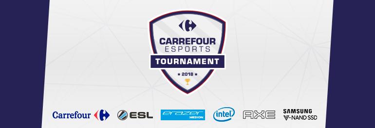 Carrefour eSports Tournament 2018   ESL Play