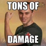Resultado de imagem para tons of damage