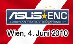 ASUS ENC Stopp in Wien - Zeitplan
