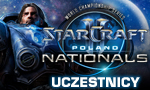Uczestnicy Starcraft II World Championship Series Poland Nationals