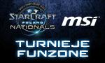 Strefa Fun Zone od MSI podczas StarCraft II World Championship Series Nationals Poland