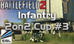 Результаты Battlefield 2 Infantry 2on2 Cup #3