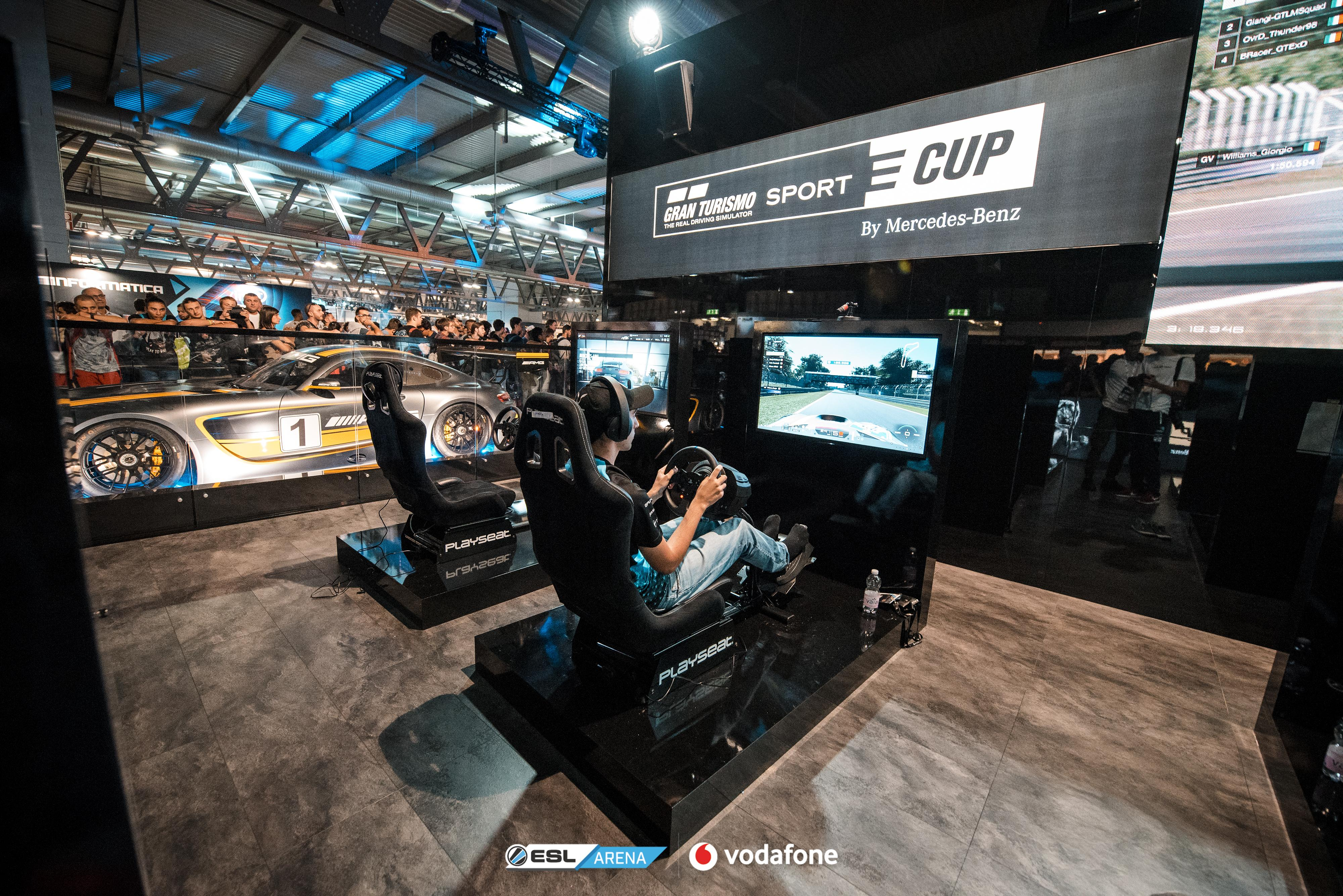 GT Sport e-Cup #1 by Mercedes-Benz - Il podio